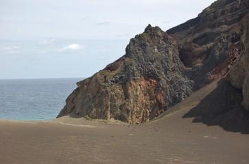 Vulcão dos Capelinhos. Ilha do Faial, Açores, Portugal.