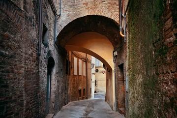 Siena street archway