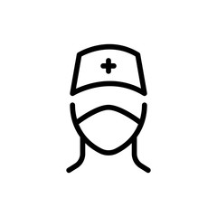 Doctor line icon