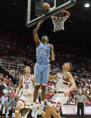 NCAA Basketball: North Carolina at Stanford