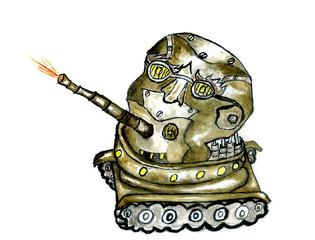 Robot Warrior Art