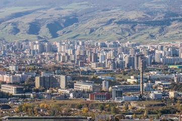 overpopulated city