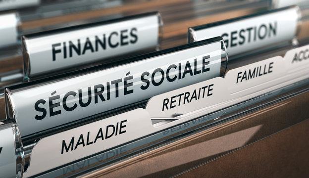 Branches de la sécurité sociale, maladie, famille et retraite