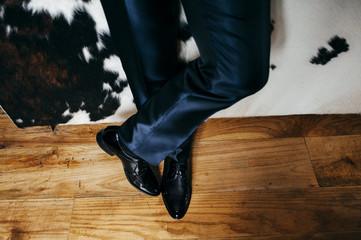 Crop classy man in elegant suit