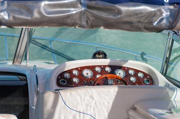 Yacht control panel