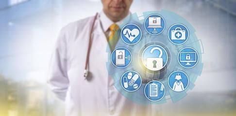 Doctor Initiating Health Information Exchange