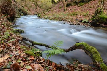 Hell´s Mill (Infernuko Errota) trail in Baztan valley, Navarra, Spain