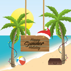 summer merry christmas holidays vacation