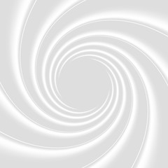 White clean vortex abstract background. Helix texture for text and website backgrounds, print or app