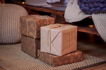 Новогодний подарок в красивой коробочке