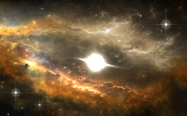 Protoplanetary disk. New planetary system