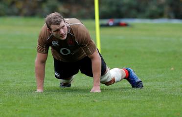 Rugby Union - England Training