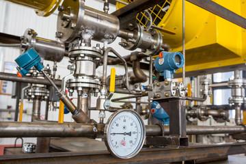 regulators on crude oil monitoring equipment