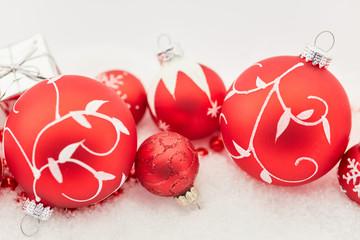 Weihnachtskugeln als Weihnachten Dekoration