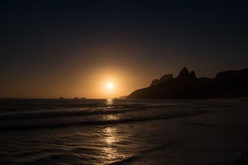 Sonnenuntergang in Rio de Janeiro