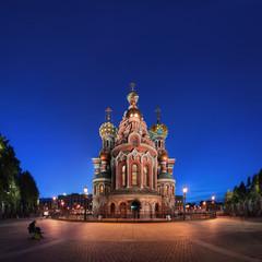 "Orthodox Church ""Spas na Krovi"" (Savior on spilled blood) in Saint Petersburg, Russia."