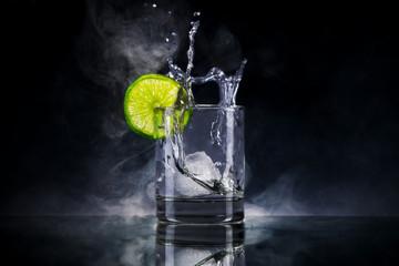 Gin mit Eis