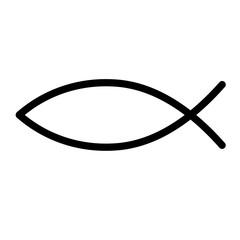 Fisch Symbol für das Christentum