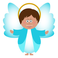 Isolated Angel icon