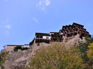 Casas colgadas de Cuenca (Castilla La Mancha, España)  Ciudad Patrimonio de la Humanidad