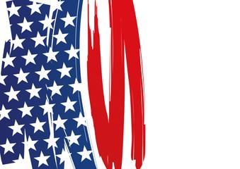drapeau - américain - État-Unis - fond - USA - bannière - Amérique - star spangled banner