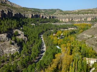 Cuenca,ciudad de Castilla la Mancha  en España declarada patrimonio de la Humanidad por la Unesco