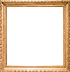 rectangularframe for photo on isolated background