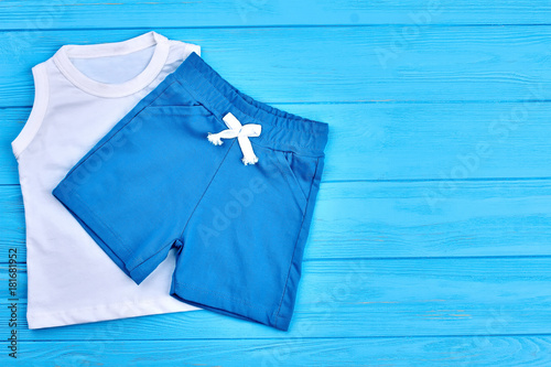 5ab4046fecff Baby boy shorts and t-shirt. Little boy summer apparel and copy ...