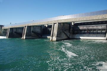 Aluminium Prints Dam barrage