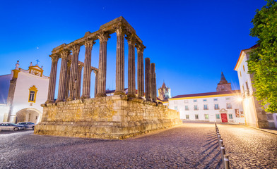 The Roman Temple of Evora Fototapete