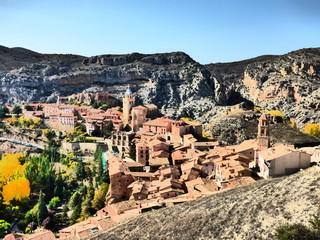 Albarracin, pueblo con encanto de Teruel ( Aragon, España)
