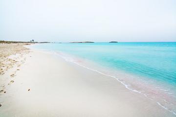 Dreamy soft paradise beach