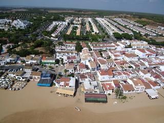 Playa de El Rompido en Cartaya, provincia de Huelva (Andalucia,España)