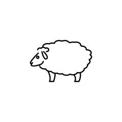 Sheep line icon
