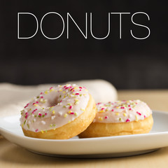 Donuts und Tee - Donuts and tea
