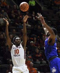 NCAA Basketball: Houston Baptist at Virginia Tech