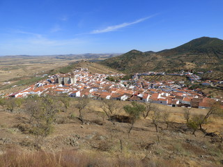 Feria, pueblo de Badajoz (Extremadura, España)