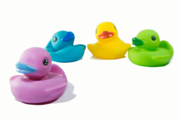 Rubber duck toy for bath