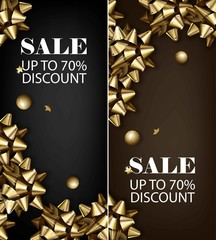 Sale discount for everything promo offer banner
