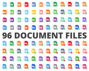 Document File Type Format flat