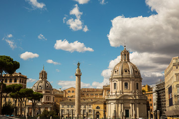 View of Rome, Italy .