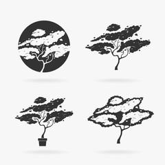 Silhouette Stencil Tree