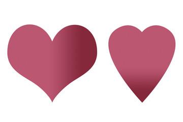 Corazones de amor.