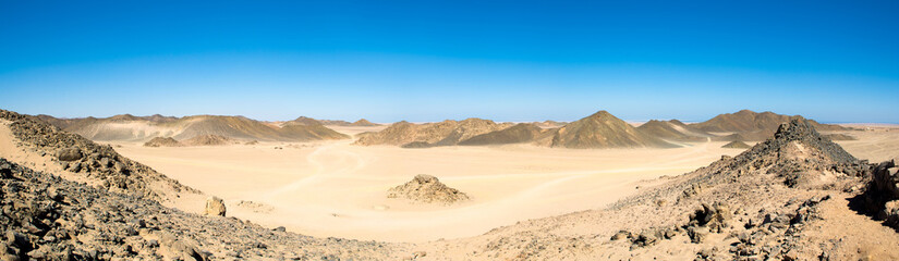 Landscape of the Arabian desert