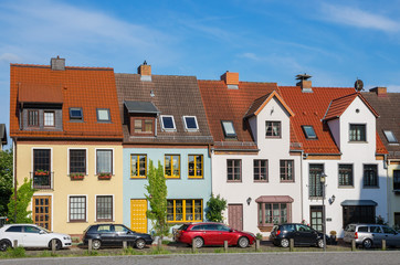 Town houses. Rostock, Germany