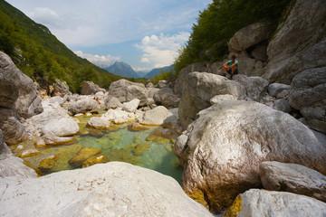 Boka river, Triglav National Park, Slovenia