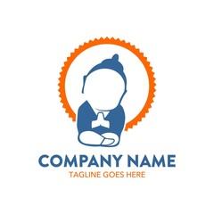 buddha logo template. illustration. vector. editable