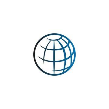 world / earth logo