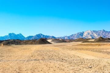 Landscape of the Arabian desert