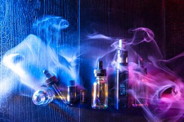 Liquids for electronic cigarettes. Vape Concept